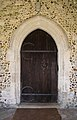 All Saints' Church, High Roding, Essex, England - south porch nave door.jpg
