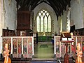 All Saints Church - rood screen dado - geograph.org.uk - 1394940.jpg