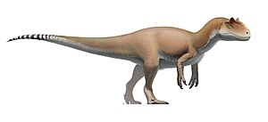 Allosaurus - Life restoration of A. fragilis