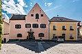 Althofen Schlossplatz 2 und 3 Neues Schloss und Wohnhaus N-Ansicht 20082018 4216.jpg