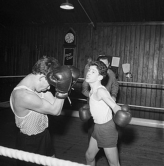 Boxing - Amateur Boxing Club, Wales 1963