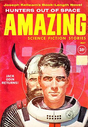 Joseph E. Kelleam - Kelleam's novel Hunters Out of Space was serialized in Amazing Stories in 1960
