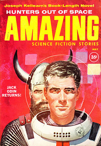 Joseph E. Kelleam - Kelleam's novel Hunters Out of Space was serialized in Amazing Stories in 1960