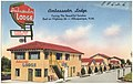 Ambassador Lodge, facing the beautiful Sandias, East on Highway 66 -- Albuquerque, N.M.jpg
