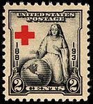 American Red Cross 50th Anniversary 2c 1931 issue U.S. stamp.jpg