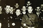 American aviators awarded the Military Order of China at Chungking, China 1942 (24395382116).jpg