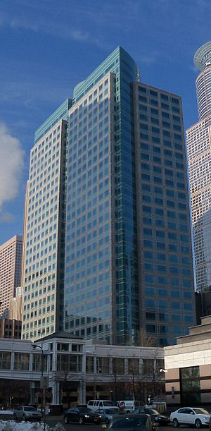 English: Ameriprise Financial Center in Minnea...