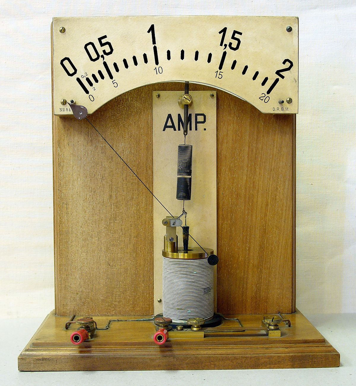 1200px Amperemeter_hg ammeter wikipedia DC Amp Meter Wiring Diagram at love-stories.co