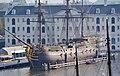 Amsterdam NEMO Blick vom Dach aufs Scheepvaartmuseum 6.jpg