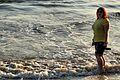 Amy paddling in the Pacific - Santa Monica Beach (23026287069).jpg