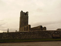 Skryne tower, 15th-century church