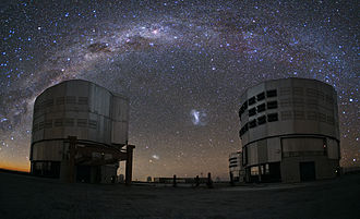 Coalsack Nebula - Image: An Emu in the Sky over Paranal