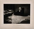 An anatomist meditates on the corpse of a beautiful young wo Wellcome V0010459.jpg