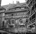 An der Frauenkirche, szemben a Vincenz Richter étterem . Fortepan 75049.jpg