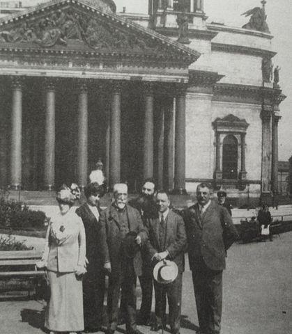 Франс в Петербурге (1913 год)