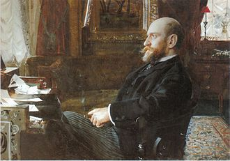 Ernest Cassel - painted by Anders Zorn, 1886