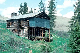 National Register of Historic Places listings in Park County, Wyoming - Image: Anderson Lodge