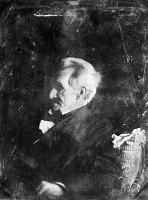 Daguerreotype of Andrew Jackson at age 77 or 7...