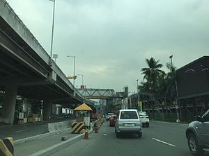Andrews Avenue - Image: Andrews Avenue and NAIA Expressway