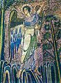 Angel Mosaec from Saint Sophia Church in Thessaloniki, 883.jpg
