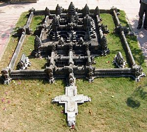 Model by Dy Proeung, in Siem Reap, Cambodia, o...