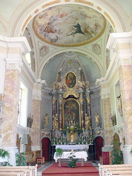 File:Antholz Mittertal - Kirche St. Georg Hochaltar 1795.jpg