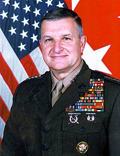 Anthony Zinni American Marine Corps general