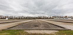 Antiguas barracas de prisioneros, campo de concentración de Dachau, Alemania, 2016-03-05, DD 15.jpg