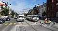 Anzin & Valenciennes - Travaux de raccordement des lignes A & B du tramway de Valenciennes à la Croix d'Anzin le 13 août 2013 (20).JPG
