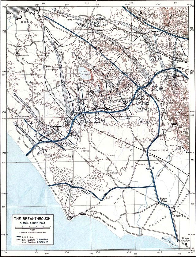 The final move on Rome. Anzio1944May-June.jpg