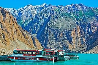 Gilgit-Baltistan - Image: Aqua Ambulance