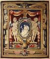 Arazzeria medicea, su dis. di michelangelo cinganelli e bottega, soprapporta con putti e la pace, 1622 poi 1653-59, 02.jpg
