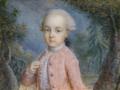 Archduke Ferdinand of Austria-Este as child, miniature - Hofburg.png