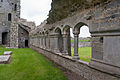 Ardfert Friary Cloister Walk South II 2012 09 11.jpg