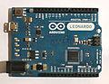 Arduino Leonardo board (cropped).JPG