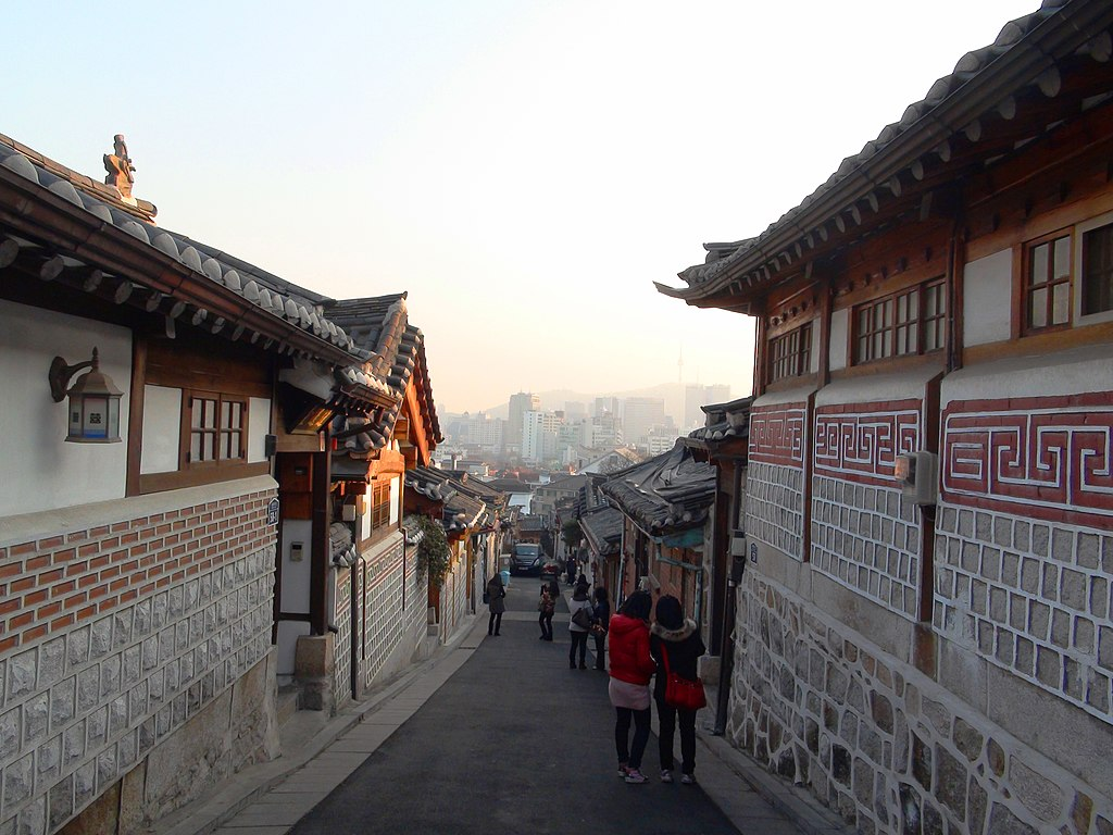 Area west of Bukchon Hanok Village C