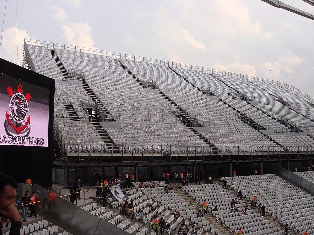 c114f8a8ff Cadeiras temporárias da Arena Corinthians