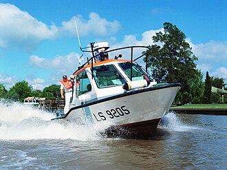 Argentine Naval Prefecture - A Zodiac 920 class at Tigre