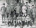 Armata 9 germana - Album foto - 4 Generalul von Eben si statul major al Armatei 9.jpg