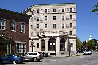 National Register of Historic Places listings in Newport County, Rhode Island - Image: Army and Navy YMCA edit 1
