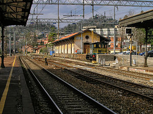 Arona, Piedmont - Train station