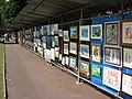 Art exhibition, Imperial Gardens, Cheltenham - geograph.org.uk - 884807.jpg