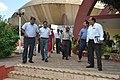 Arun Goel With His Spouse And NCSM Dignitaries Returning After Visit Of Science City - Kolkata 2018-09-23 4409.JPG
