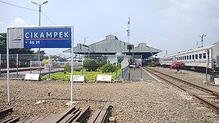 Cikampek railway station railway station in Indonesia