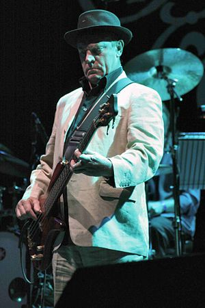Ashley Hutchings - Hutchings with Fairport Convention; August 2007  Photo: Brian Marks