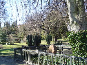 Assistens Cemetery (Copenhagen) - Inside the cemetery