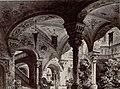 Atrio del castello del barone Riccardo, bozzetto di Carlo Ferrario per La Contessa di Medina (1873) - Archivio Storico Ricordi ICON012090.jpg
