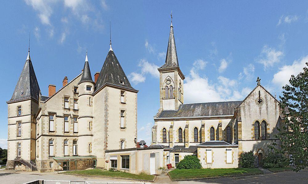 Château et église du Réray