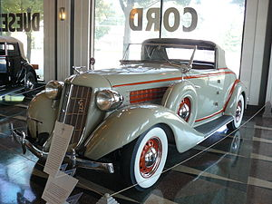 Auburn Automobile - 1936 Auburn 654 Cabriolet.