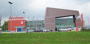 Auchan - Auchan in Cesano Boscone near Milan, Italy